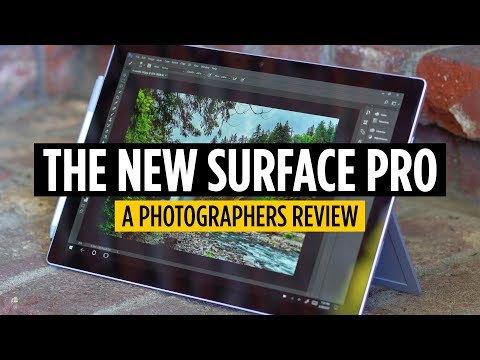 Photographer Reviews Microsoft's New Surface Pro (2017)