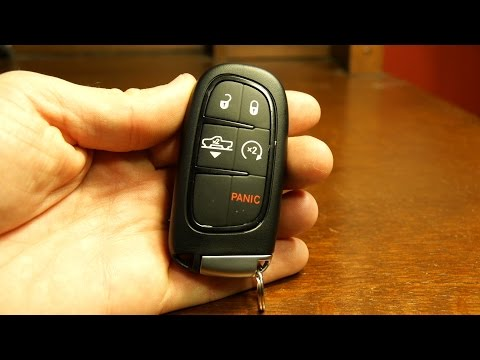 2016 Dodge Ram key fob battery replacement