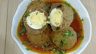 Old Delhi famous Nargisi koftay recipe||Traditional Nargisi koftay recipe||Nargisi koftey recipe