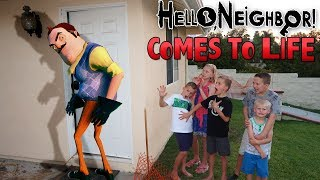 Download Hello Neighbor In Real Life! Video
