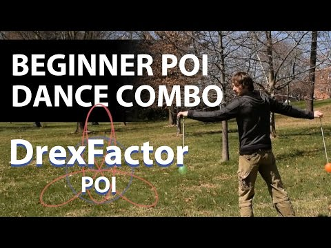 Learn Poi Dancing: Beginner Poi Spinning Combo