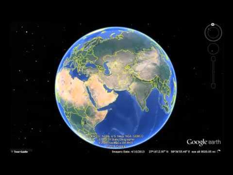 Iraq Google Earth View
