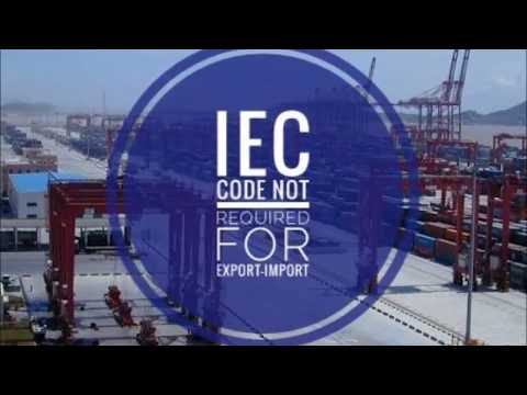 IEC Code Not Required For Export Import Now In India
