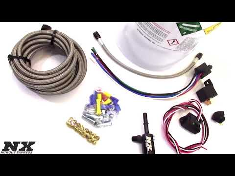 NX Nitrous Plate System for Coyote Engines