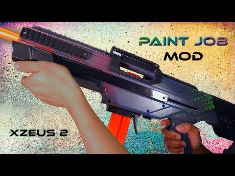 Nerf Mods: Rainbow Paint Job Mod for your blaster!