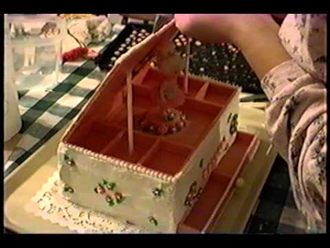 Jewelry Box Birthday Cake for Becca's 5th B-day!