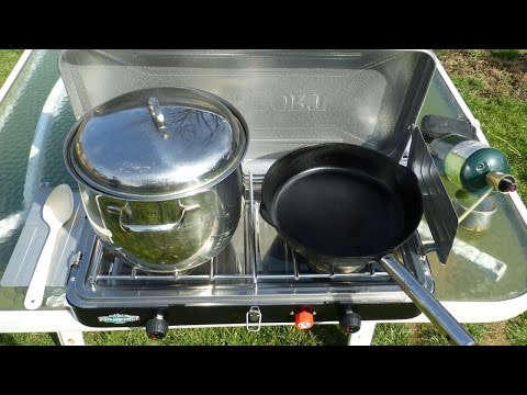 Stansport Outfitter Series Camping Stove Review