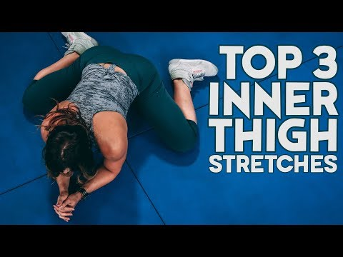 TOP 3 Inner Thigh Stretches to UNLOCK Tight Hips and Groin (Improve Flexibility)