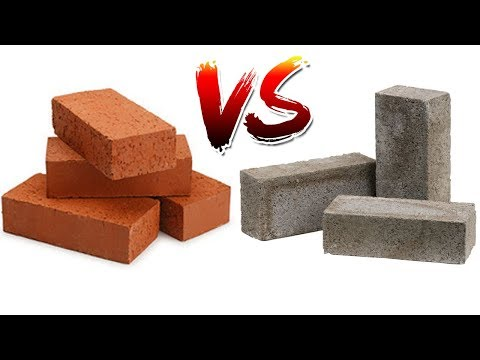 Cement brick impact with fired brick red brick, which is stronger?