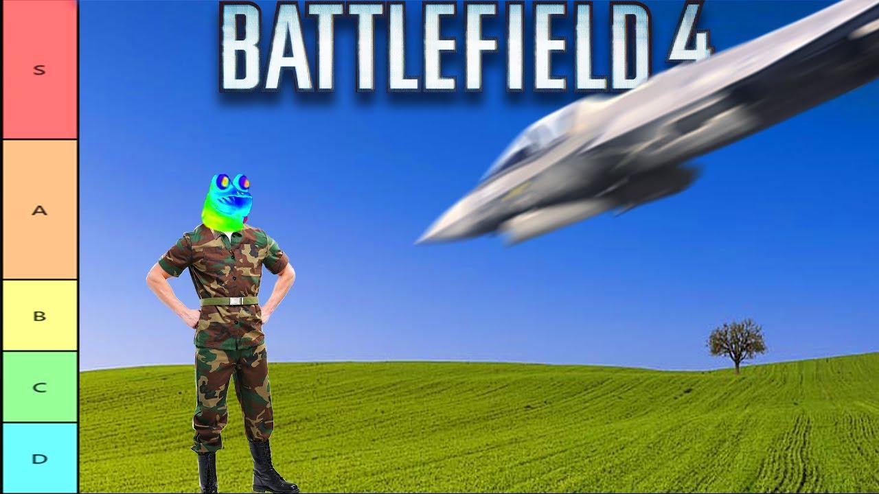 The ULTIMATE Battlefield 4 Tactic Tier List