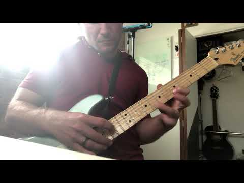 Van Halen Eruption Guitar Solo - Brad Hussey