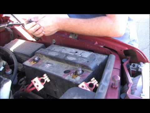 How to replace your battery: 2002 Ford Explorer
