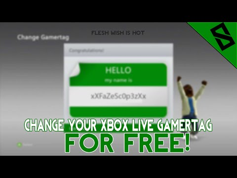 HOW TO CHANGE YOUR XBOX LIVE GAMERTAG FOR FREE! (SEPTEMBER 2017)
