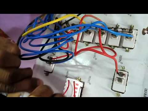 How to change an Electronic Fan Regulator and It's connection in an Electrical switch Board
