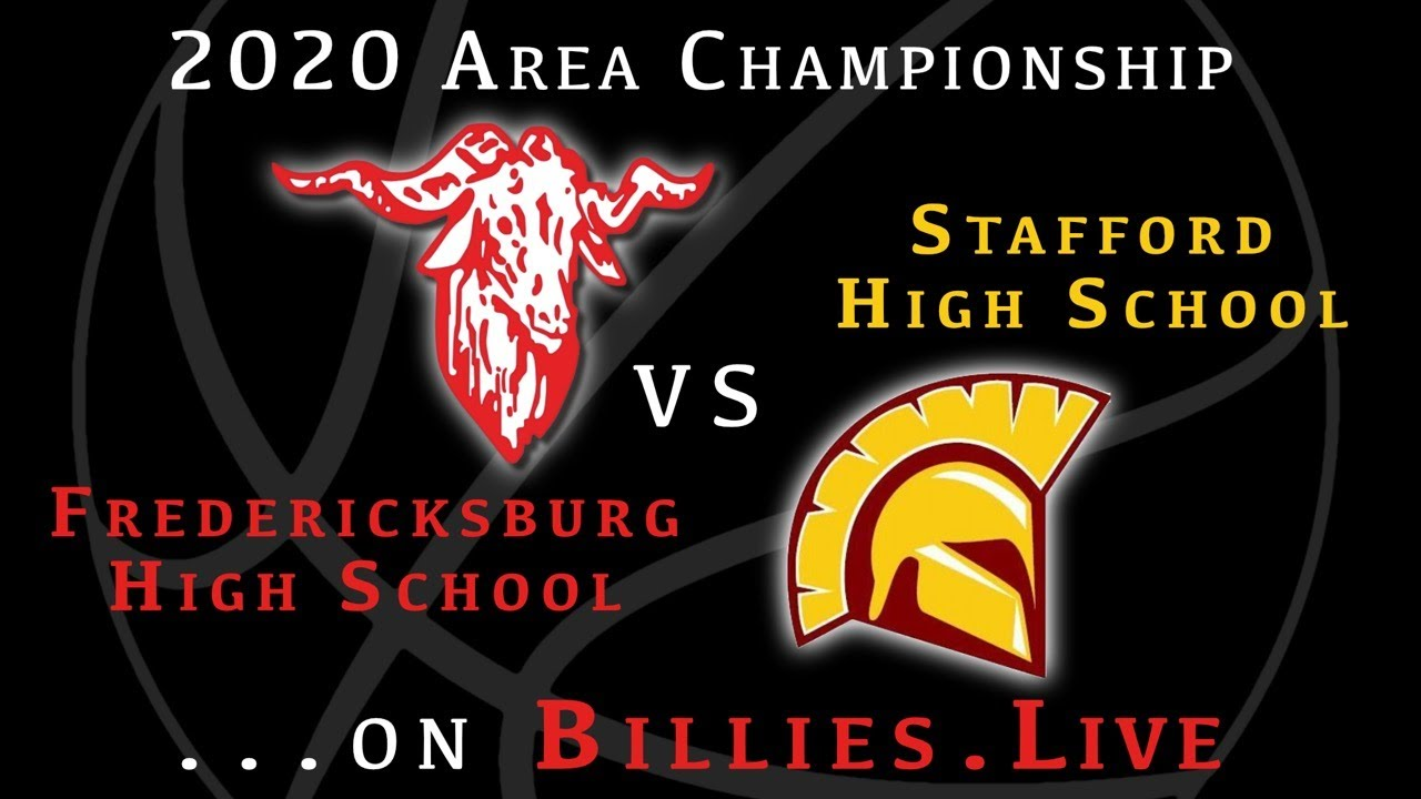 2020 Area Championship - Fredericksburg vs Stafford - Texas HS Basketball