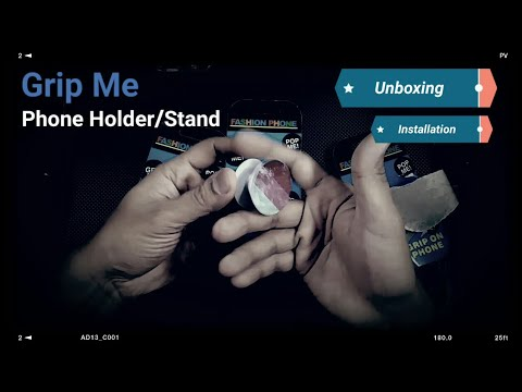 Grip Me Phone Holder (Unboxing & Installation)