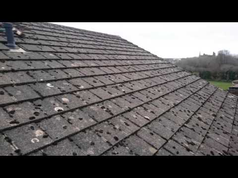 Roof cleaning  remove the moss