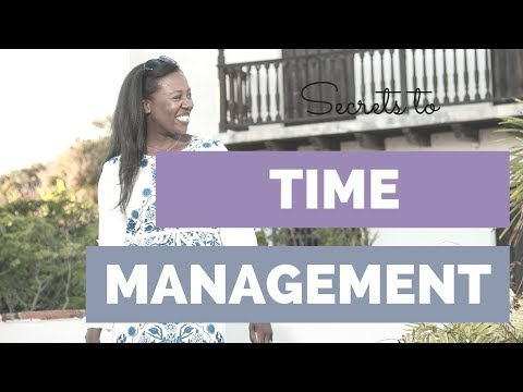 How to Manage Your Time Better (Perfect if you have a job and a business)