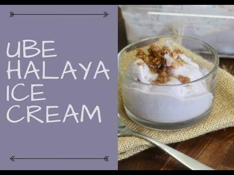 UBE HALAYA ICE CREAM