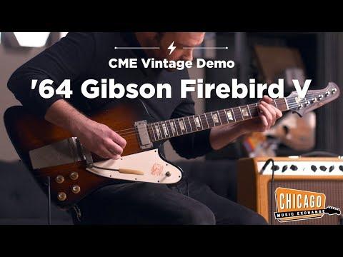 1964 Gibson Firebird V Sunburst | CME Vintage Demo