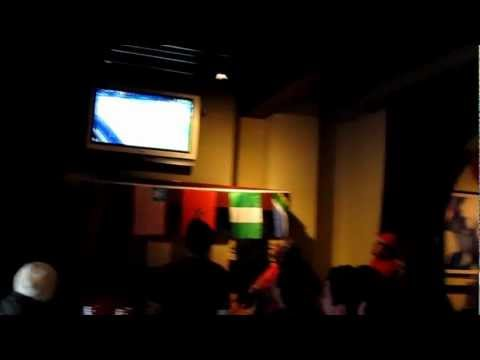 Canadian Medal Celebration in a bar on Granville St during the 2010 Winter Olympics