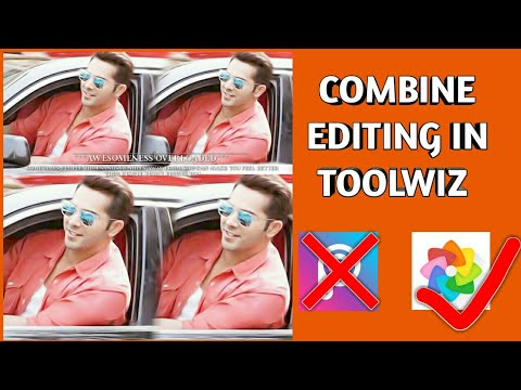 How to combine pics in toolwiz (With Effect) || Android || Rahul Creations