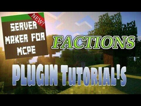 Factions - Server Maker For MCPE