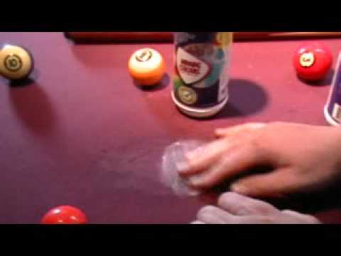 Winning Colours Stain Remover,  removing stains off of pool table