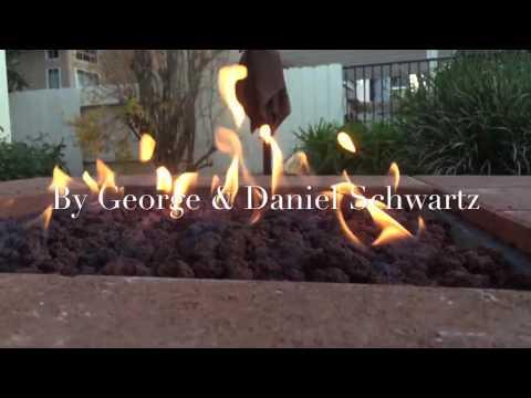 Amateur Natural Gas Fire Pit
