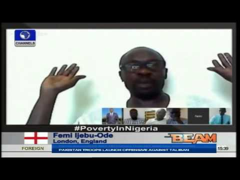 Channels Beam:Review Of Poverty In Nigeria Part 1