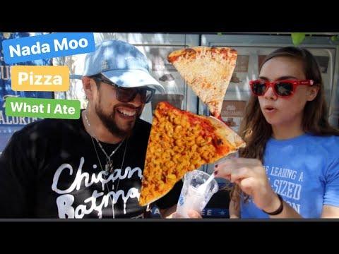 Mac & Cheese Pizza & Komboucha Float (What I Ate in LA - VEGAN)