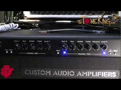 Boutique Tube Amp : CAA OD100 (Suhr / Bradshaw) Custom Audio Amplifiers