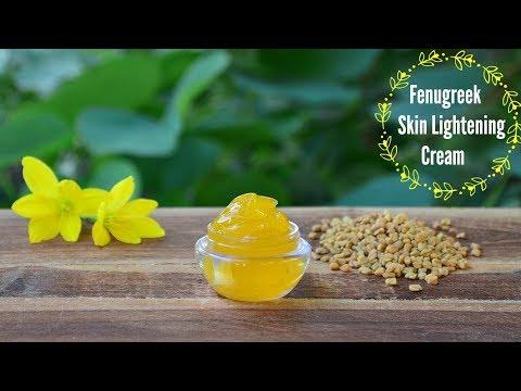 Fenugreek (Methi) Skin Lightening Face Cream To Lighten Acne Scars, Dark Spots & Hyperpigmentation