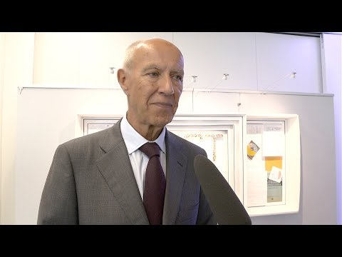 Director General Francis Gurry Celebrates 40 Years of the International Patent System