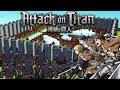 Attack On Titan 進撃の巨人- Kingdoms and Castles -Shiganshina District