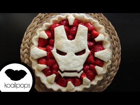 Iron Man Strawberry Pie Pie | How To