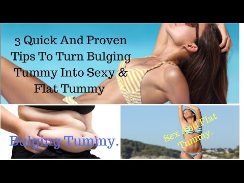 How to Get a Sexy and Flat Tummy in 2 Weeks - Get Sex And Flat Belly Fast