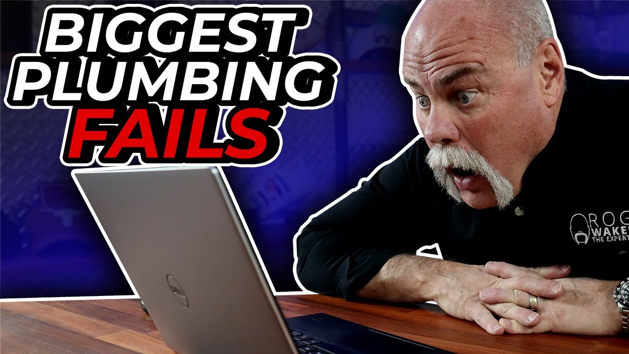 Real Plumber Reacts to the BIGGEST PLUMBING FAILS on YouTube