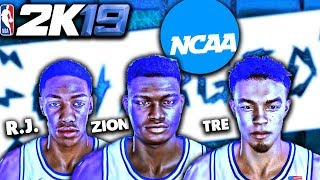 How to get NCAA rosters and uniforms NBA 2K18 - MM 3