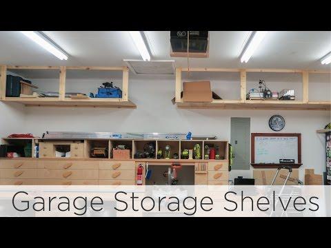 Wasted Space Garage Storage Shelves - 202