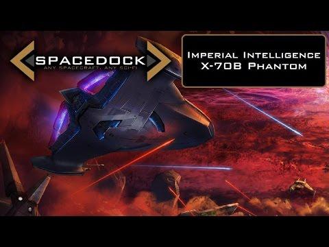 Star Wars: X-70B Phantom (Legends) - Spacedock