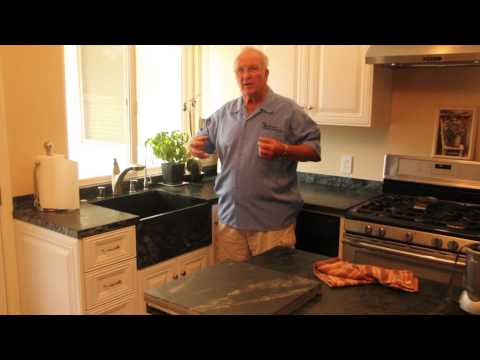 How to Clean Water Minerals off Your Soapstone Sink