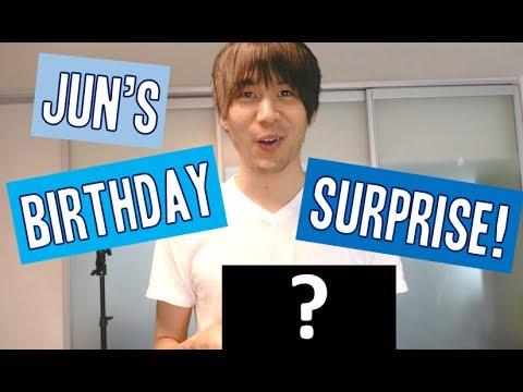 Jun's Birthday Surprise!!