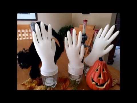 Frankenstein's Hand Science Experiment