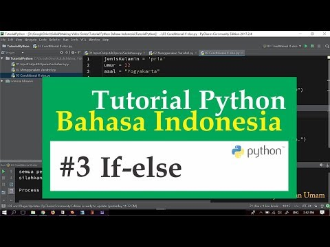 03 Tutorial Python Bahasa Indonesia - Conditional If else
