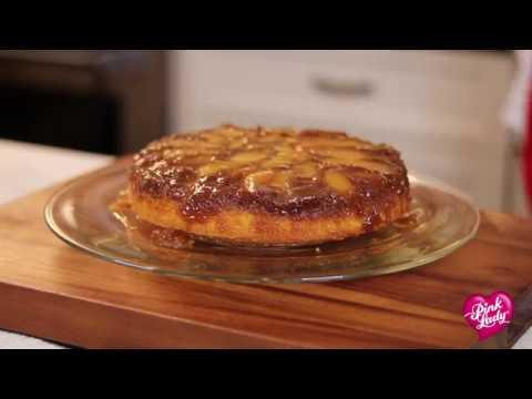 Upside Down Apple Cake Recipe - The Produce Moms