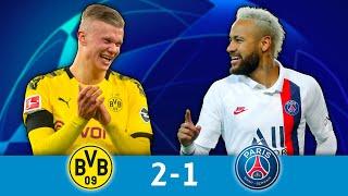 1/8 aller, B.Dortmund - PSG (2-1): le PSG plie face à Haaland !