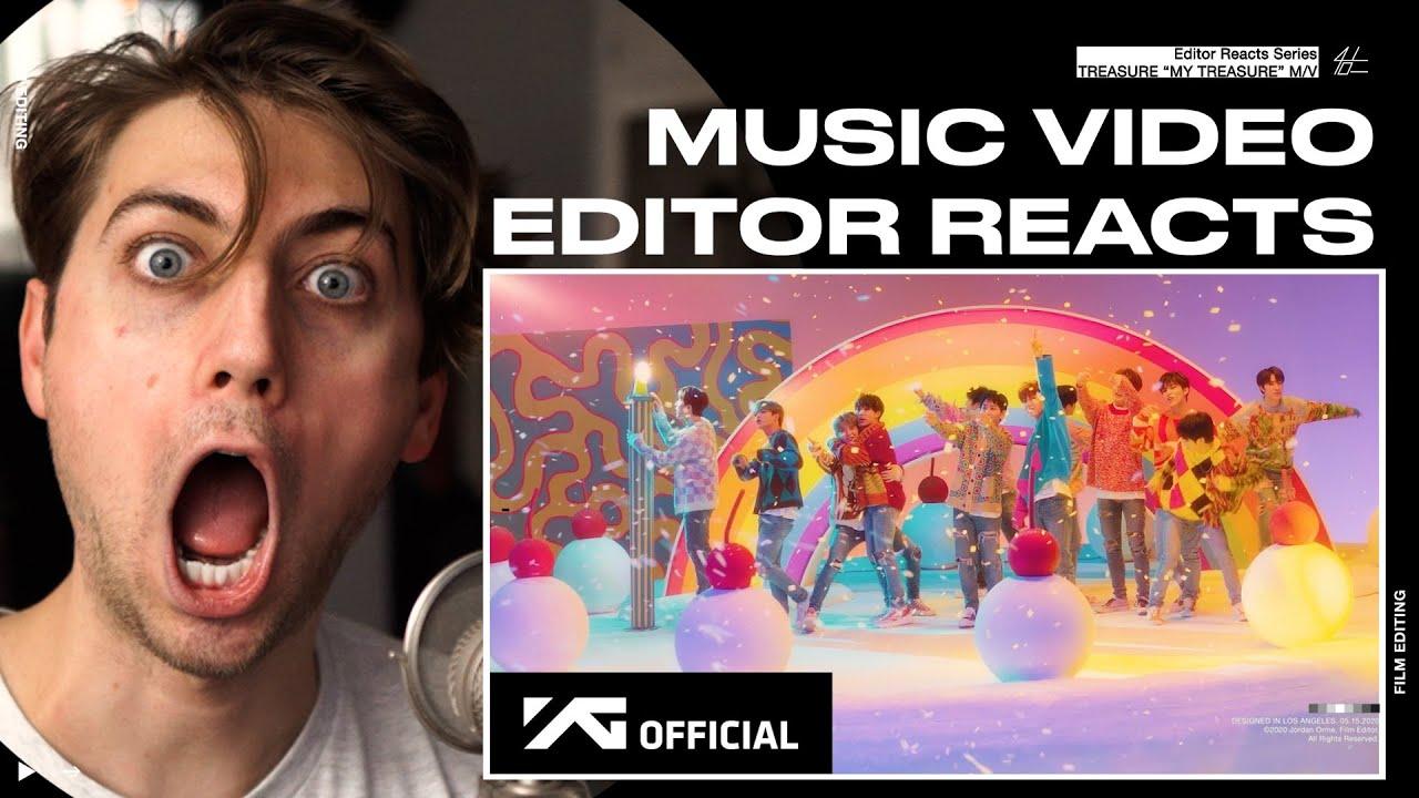 Video Editor Reacts to TREASURE - 'MY TREASURE' M/V
