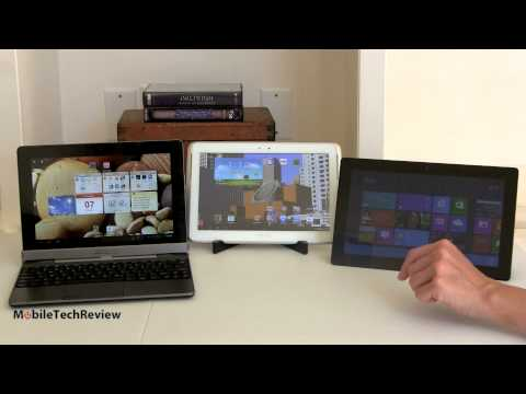 Microsoft Surface RT vs Android Tablet Comparison Smackdown