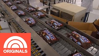 How Snickers Bars Are Really Made | The Follow | TODAY